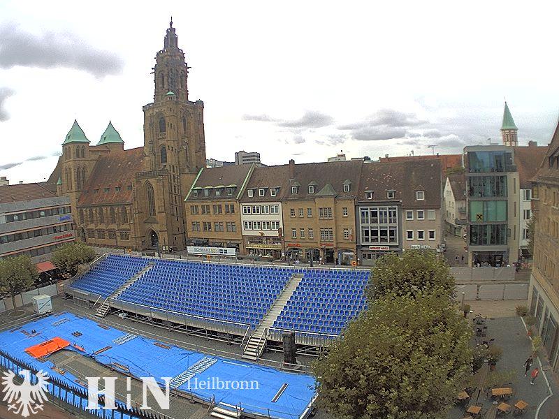 Webcam Heilbronner Marktplatz